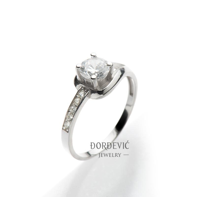 verenički prsten belo zlato (Beograd, Srbija)