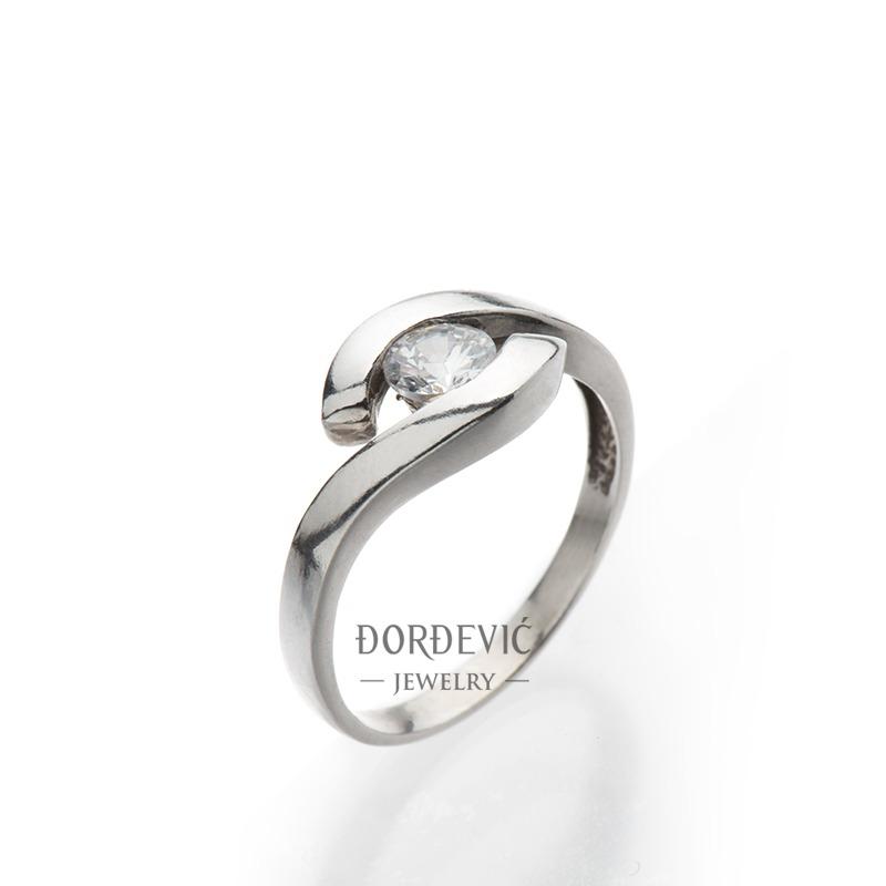prsten od belog zlata (Beograd, Srbija)
