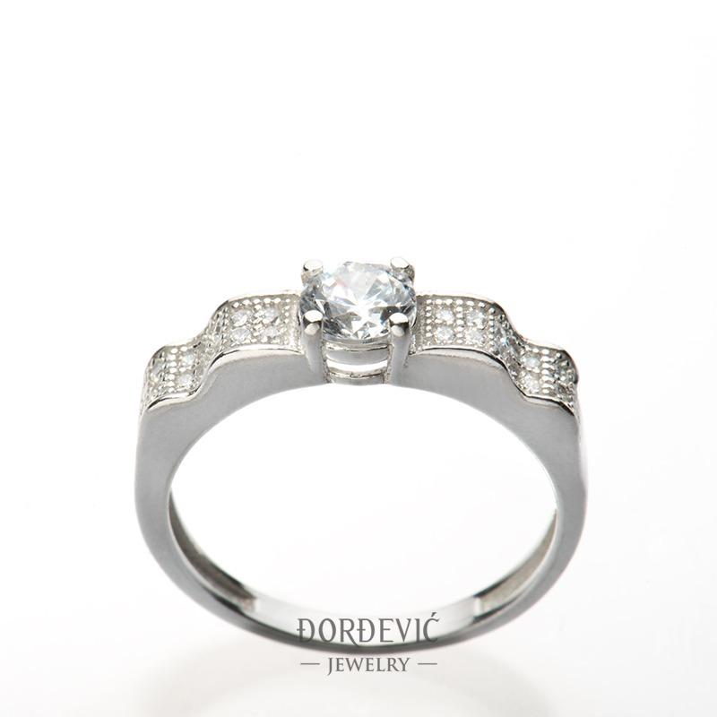verenički prsten sa cirkonima (Beograd, Srbija)
