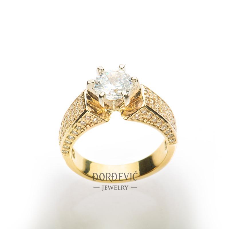 verenički prsten od žutog zlata (Beograd, Srbija)