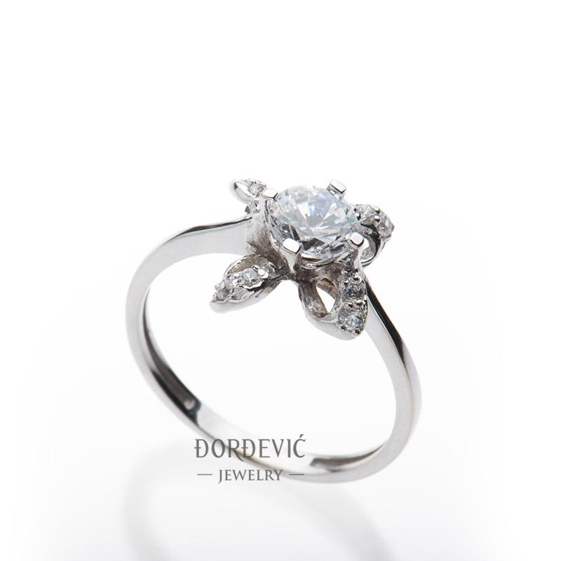 verenički prsten od belog zlata (Beograd, Srbija)