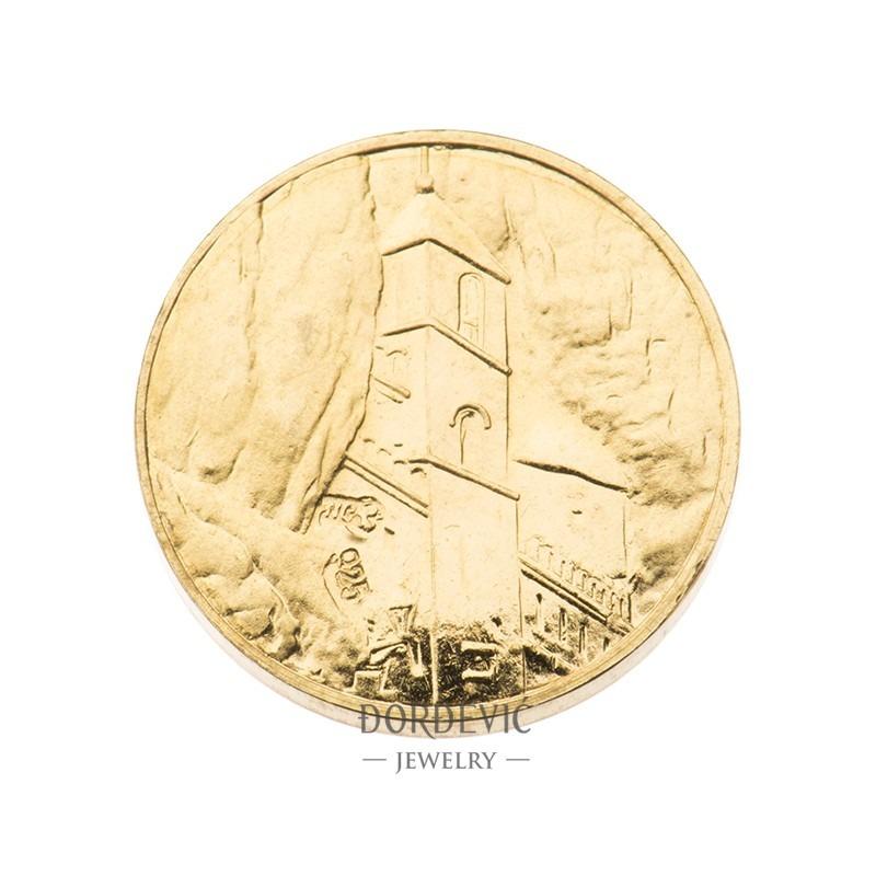 Dukat zlatnik Manastir Ostrog