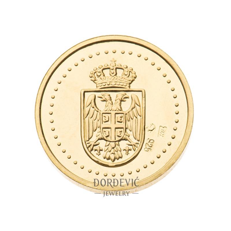 Dukat zlatnik Osnovni grb Srbije