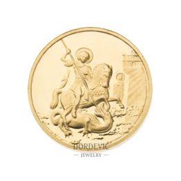 zlatni dukati sv. Djordje